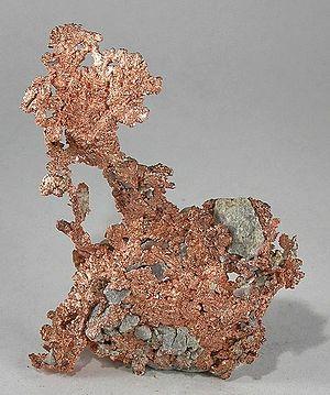 Native element minerals - Native copper