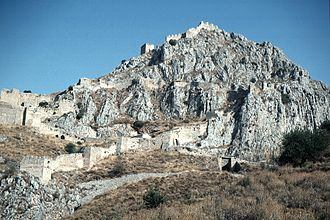 Acrocorinth - Image: Corinth, Acrocorinth