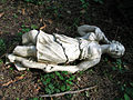 Cormeilles en parisis 54 broken statue (the rape).jpg