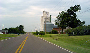 Corn, Oklahoma - Image: Corn, OK from the east (4244779799)