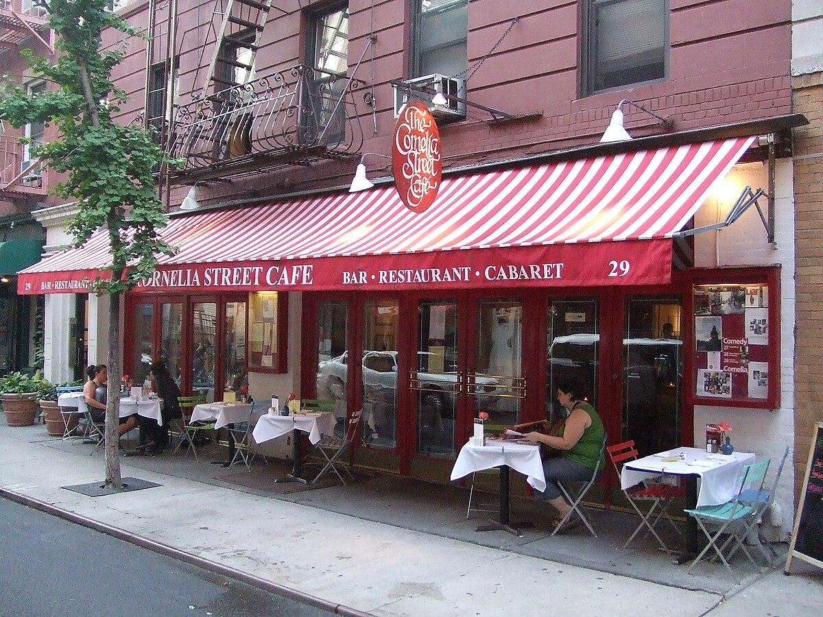 Corner Street Cafe Menu