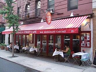 Cornelia Street Cafe - Cornelia Street Cafe, circa 2009