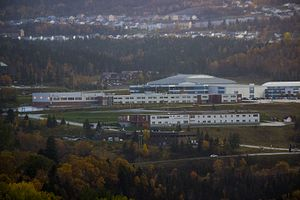 Corner Brook Regional High - Image: Corner Brook Regional High landscape