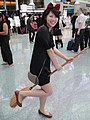 Cosplayer of Kiki, Kiki's Delivery Service at Anime Expo 20110702 (5917381347).jpg