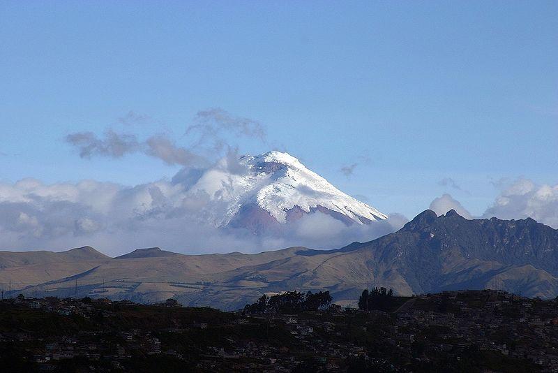 Volcano Cotopaxi, near Quito