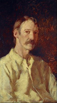 Count Girolamo Nerli - Robert Louis Stevenson, 1850 - 1894. Essayist, poet and novelist - Google Art Project.jpg