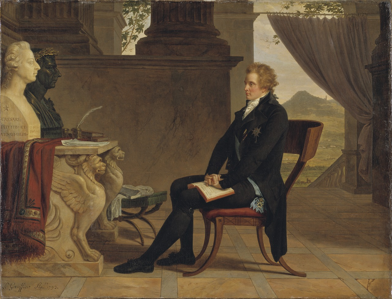 Count Gustaf Mauritz Armfelt in Florence (Louis Gauffier) - Nationalmuseum - 19714.tif