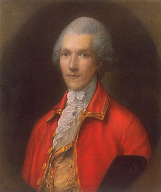 Benjamin Thompson - Painting by Thomas Gainsborough 1783