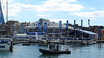 Cowes Yacht Haven during Cowes Week 2013 7.JPG