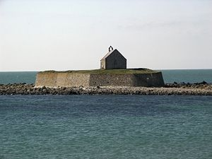 Cribinau - Cribinau and its Little Church in the Sea