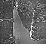 Crillon Glacier, valley glacier terminus and outwash plain, August 22, 1968 (GLACIERS 5338).jpg