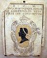 Cripta di san lorenzo (salone donatello), stemma albertinelli.JPG