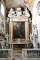 Cristofano allori, san Domenico riceve il rosario dalle mani della Madonna, 1600-10, entro altare di andrea vaccà, 01.jpg