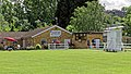 Crouch End Cricket Club pavilion in Haringey, London England.jpg