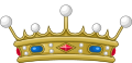 Crown of a Viscount of France (variant).svg