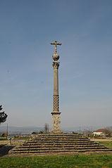 Wayside cross in Tibães