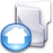 Crystal Clear filesystem folder home3.png