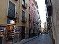 Cuenca, Casco Antiguo de la Ciudad y paisaje que lo rodea, calle Alfonso VIII.jpg
