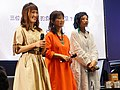 Cuisine Dimension voice actresses standing on the stage 20190414b.jpg