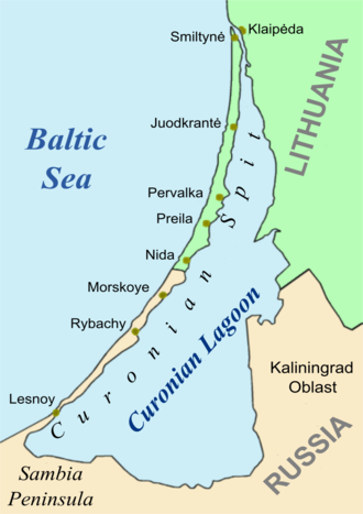 Curonian Spit - Curonian Spit and Lagoon