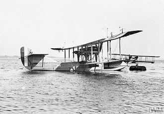 Curtiss Model H - Curtiss H-12 Large America in RNAS service.
