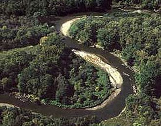 Cuyahoga River - The Cuyahoga River in the Cuyahoga Valley National Park