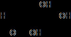 Deoxyribose - Image: D dexoyribose chain