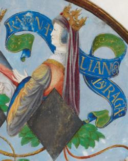D. Leonor de Portugal, Rainha de Aragão - The Portuguese Genealogy (Genealogia dos Reis de Portugal).png