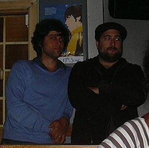 David Berkeley - David Berkeley and Jordan Katz at Bloc, Glasgow (June 2009)