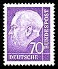 DBP 263 Heuss dunkelviolett 70 Pf 1957.jpg
