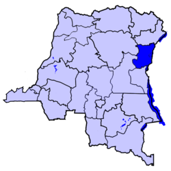 Location of Nord-Kivu