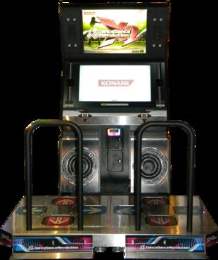 borne arcade ddr