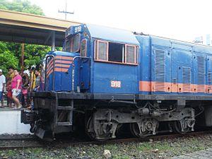 PNR 900 Class - PNR DEL 918 spotted at Tutuban Station