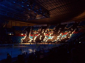 Järnkaminerna - Supporter stand at Hovet