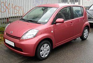Daihatsu Boon - Image: Daihatsu Sirion front 20081202