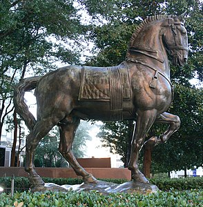 Dallas Crow Center 15 Bourdelle Horse for Alvear monument 1