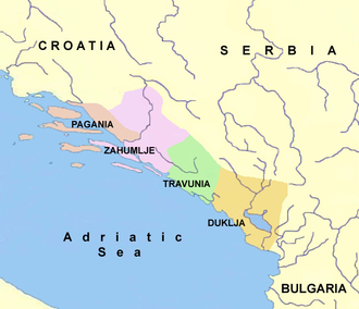 Zachlumia - Principalities of Serbian Pomorje during Early Middle Ages