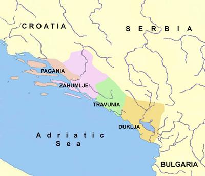Dalmazia Italiana Cartina.Storia Della Dalmazia Wikipedia