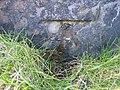 Damaged bench mark on Hilbre Island - geograph.org.uk - 1390245.jpg