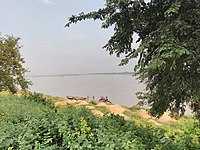 Damodar River Beach At Sadarghat Burdwan