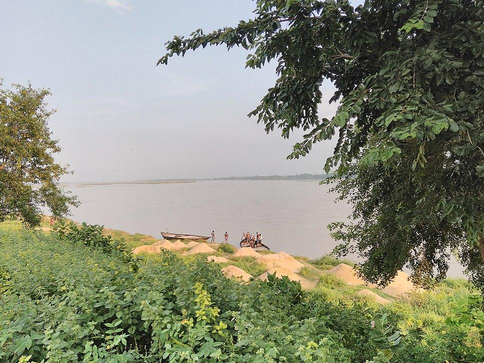 Damodar River Beach Burdwan
