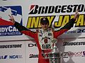 Dan Wheldon won 2005 Indy Japan 300.jpg