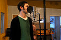 Daniel Offerman, Marc Morgan album recording, LowSwing studio, Berlin, 2011-01-23 15 45 55.jpg