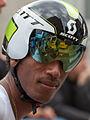 Daniel Teklehaimanot - Critérium du Dauphiné 2012 - Prologue (cropped).jpg