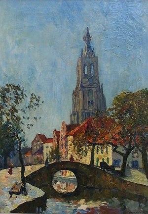 Charles Dankmeijer - Image: Dankmeijer Gezicht op Delft