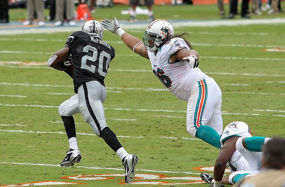 Darren McFadden - Miami Dolphins vs Oakland Raiders 2012