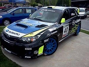 Dave Mirra - Mirra's Subaru rally car