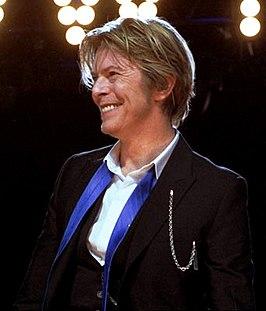 Bowie tijdens de Heathen Tour in 2002