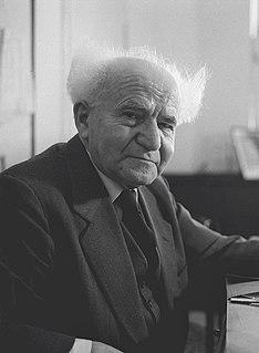David Ben-Gurion Israeli politician, Zionist leader, prime minister of Israel
