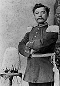 David Leleo Kinimaka, in uniform